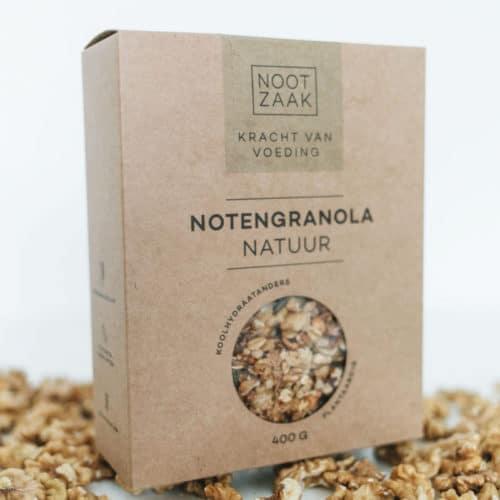 Notengranola natuur 400 gram