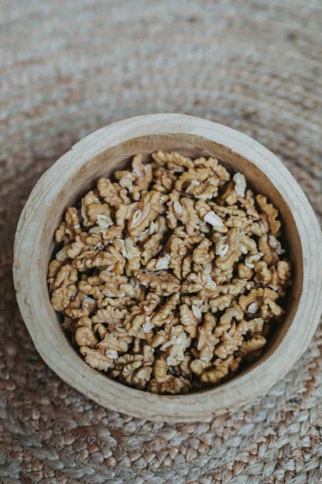 verse stukjes walnoten